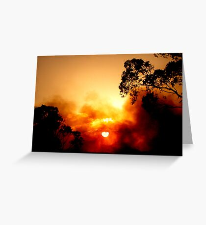 ~Fiery Sky~ Greeting Card