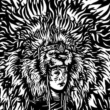 Lion Head by adamcampen