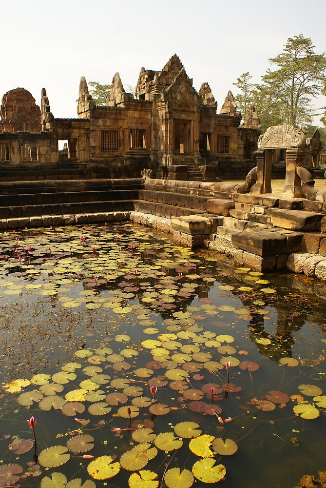 temple in Surin, Thailand by Asian-Roads