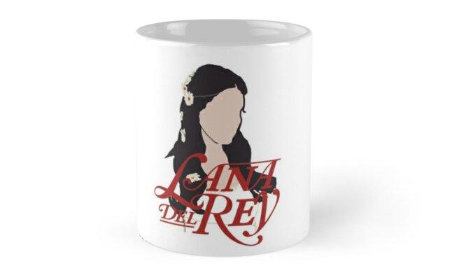 Lana Del Rey Lust For Life Logo Mug