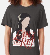 Lana Del Rey Lust For Life Logo Slim Fit T-Shirt