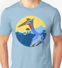 Pterosaur Sunset (Light Version) Unisex T-Shirt