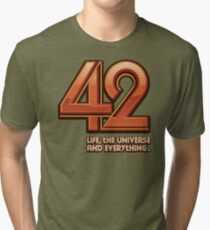 Forty-Two Tri-blend T-Shirt