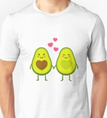 Cute avocados in love Unisex T-Shirt