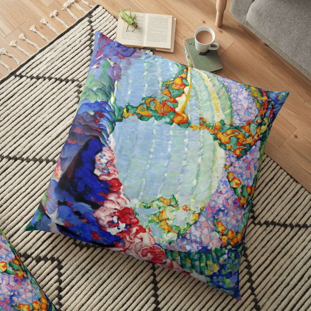 Abstract Abstract Abstract Floor Pillow