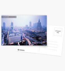 Melancholic Warsaw Postcards