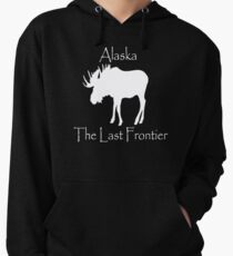 The Last Frontier Alaska Moose shirt Lightweight Hoodie