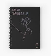 "Love Yourself ""Her"" - [BLACK] Spiral Notebook"
