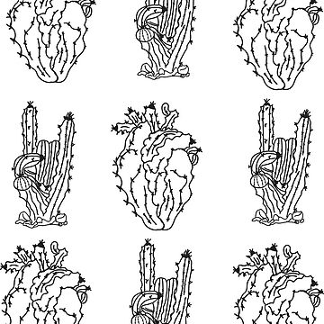 Cactus Pattern by ruuubee