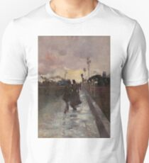 Going Home by Charles Conder Unisex T-Shirt