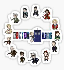 Doctor Who: All Fourteen! Sticker