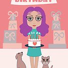 WISHING YOU THE HAPPIEST OF BIRTHDAYS! by Jean Gregory  Evans
