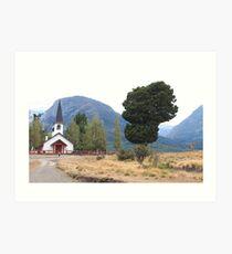 Patagonian Landscape Art Print