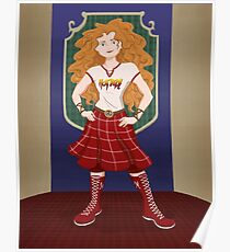 Princesses of Wrestling: Dirty Merrie Dunbroch Poster