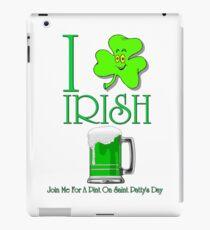 I Love Irish Beer iPad Case/Skin