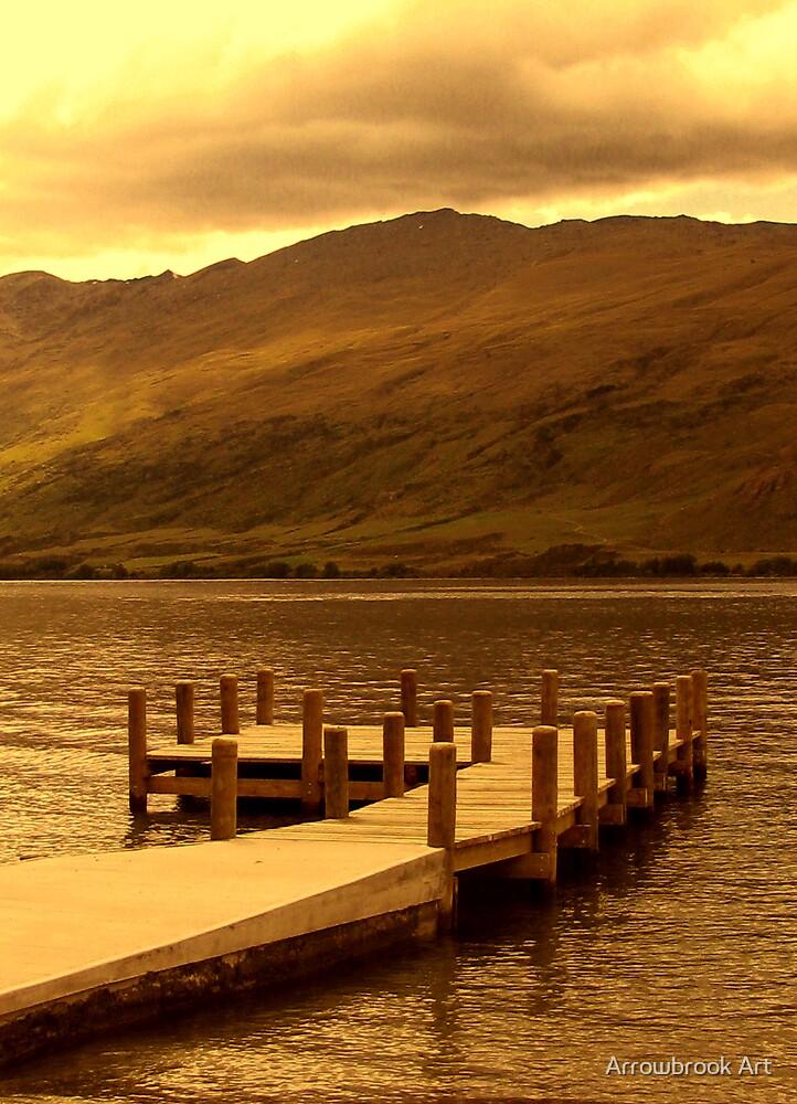 Kingston Jetty - Lake Wakatipu by John Brotheridge