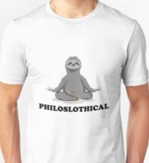 Philosophical Philosophical Sloth  Unisex T-Shirt