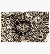 The Brain Machine Poster