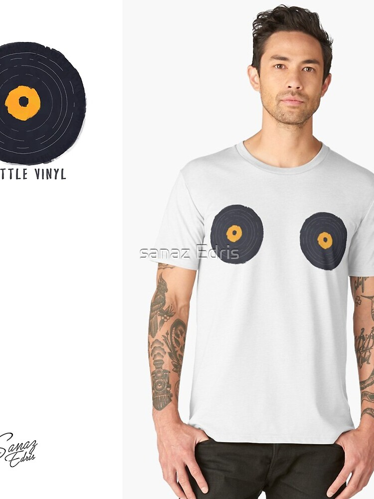 Vinly Collection Tshirts by hachure91
