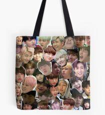 BTS - MEME FACE COLLAGE Tasche
