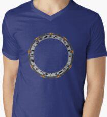 OmniGate (no text version) Men's V-Neck T-Shirt