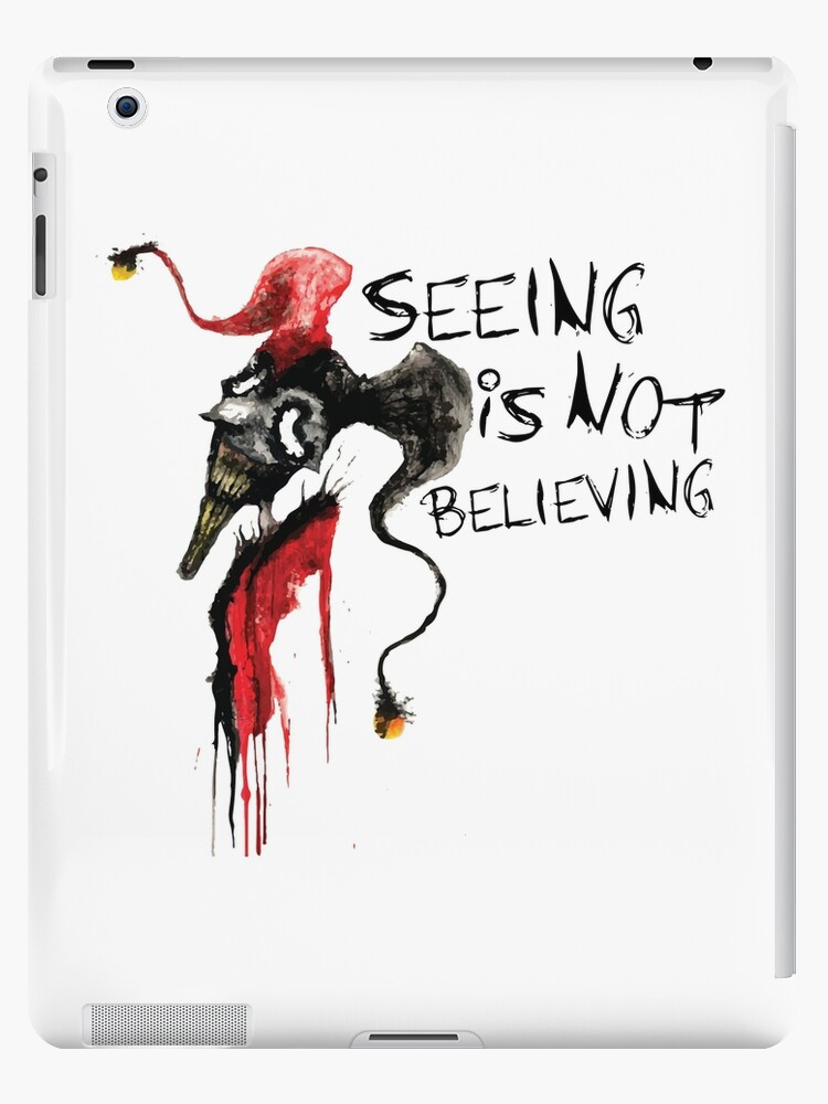 Seeing Is Not Believing >> Shaco Seeing Is Not Believing League Of Legends Ipad Cases