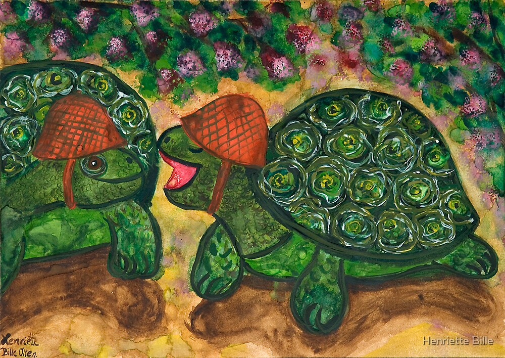 From the mouths of tortoises... by Henriette Bille