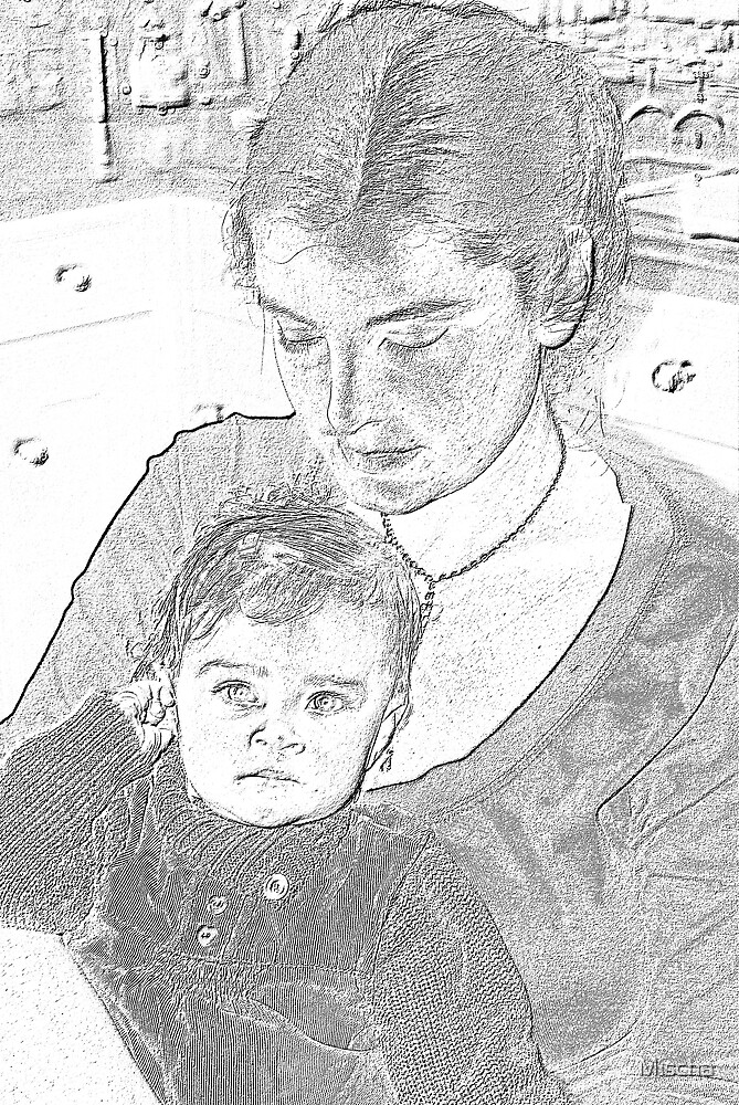 Mother and Child by Mischa