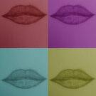 Pop Art Lips v.2 by tropicalsamuelv