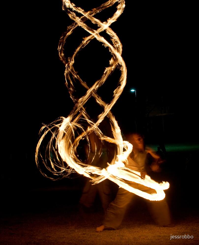 Ribbon of Fire by jessrobbo