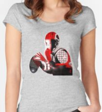 quarterback Women's Fitted Scoop T-Shirt