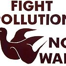 """Fight Pollution Not Wars"" hand bill, University of California, Berkeley, 1972 by dru1138"