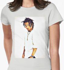 Ozuna, Reggaetonero Women's Fitted T-Shirt