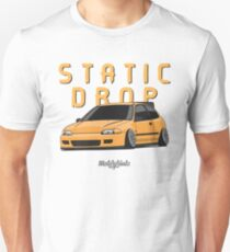 Static Drop Civic EG (yellow) Unisex T-Shirt