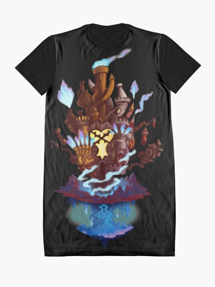 Alternative Ansicht von Hollow Bastion T-Shirt Kleid