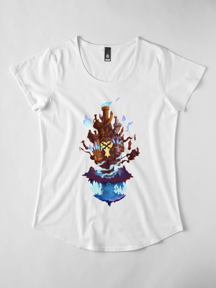 Alternative Ansicht von Hollow Bastion Premium Rundhals-Shirt