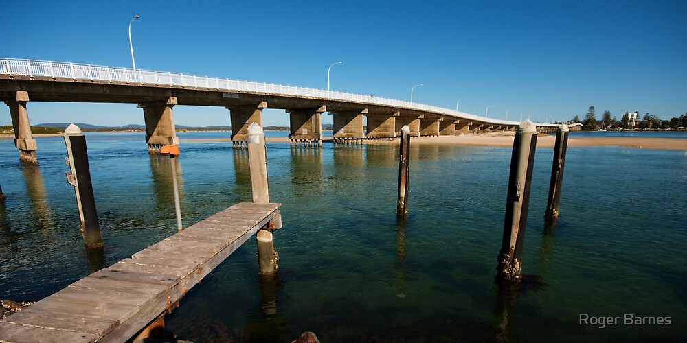 Forster/Tuncurry Bridge by Roger Barnes