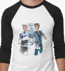 Space Sokka and notspace Lance Men's Baseball ¾ T-Shirt