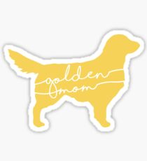 Golden Mom Sticker