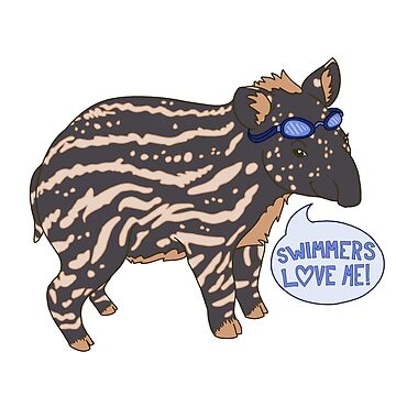 Taper Tapir by rhi-designs