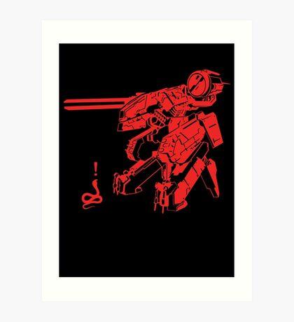 MG-REX Art Print
