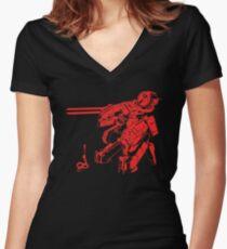 MG-REX Women's Fitted V-Neck T-Shirt