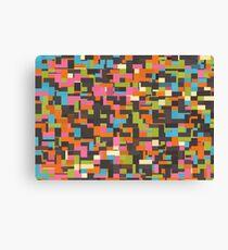 Colorful pixels Canvas Print