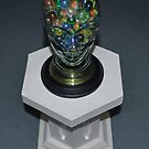Glass Marble Head. by Andy Nawroski