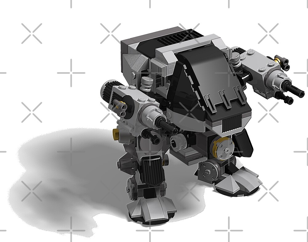 how to build a lego mech