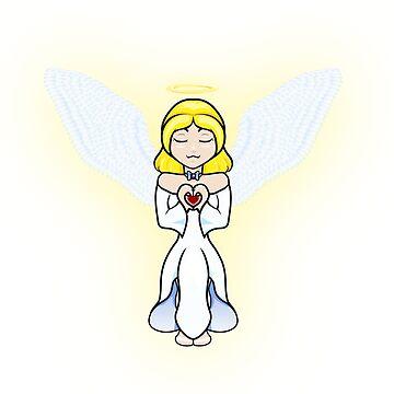 Angel heart by AnimeGamerGirl