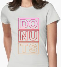 DONUT Women's Fitted T-Shirt