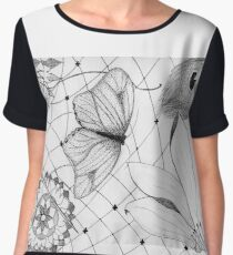 Grandmother's Lace and Other Sentiments Chiffon Top