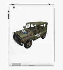 Direwolf Army UAZ from PlayerUnknown's Battlegrounds! iPad Case/Skin