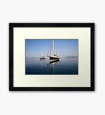 Sister Ships Framed Print